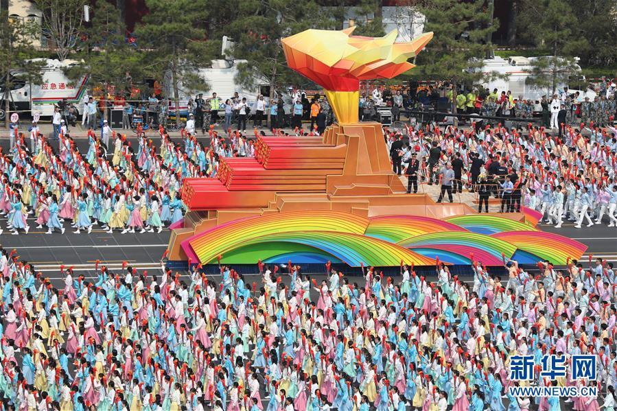 (新华全媒头条·图文互动)(11)凝聚爱国主义的磅礴力量!——新中国成立70周年盛典启示录