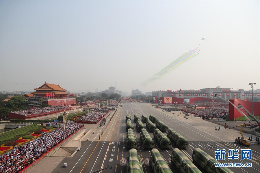(新华全媒头条·图文互动)(2)凝聚爱国主义的磅礴力量!——新中国成立70周年盛典启示录
