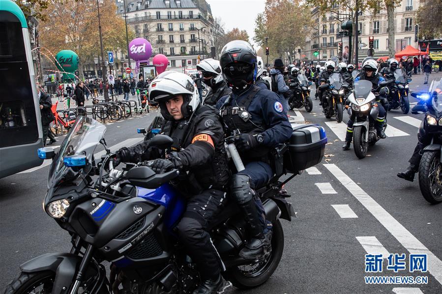(国际)(4)法国爆发全国大罢工 上百名暴力示威者被逮捕