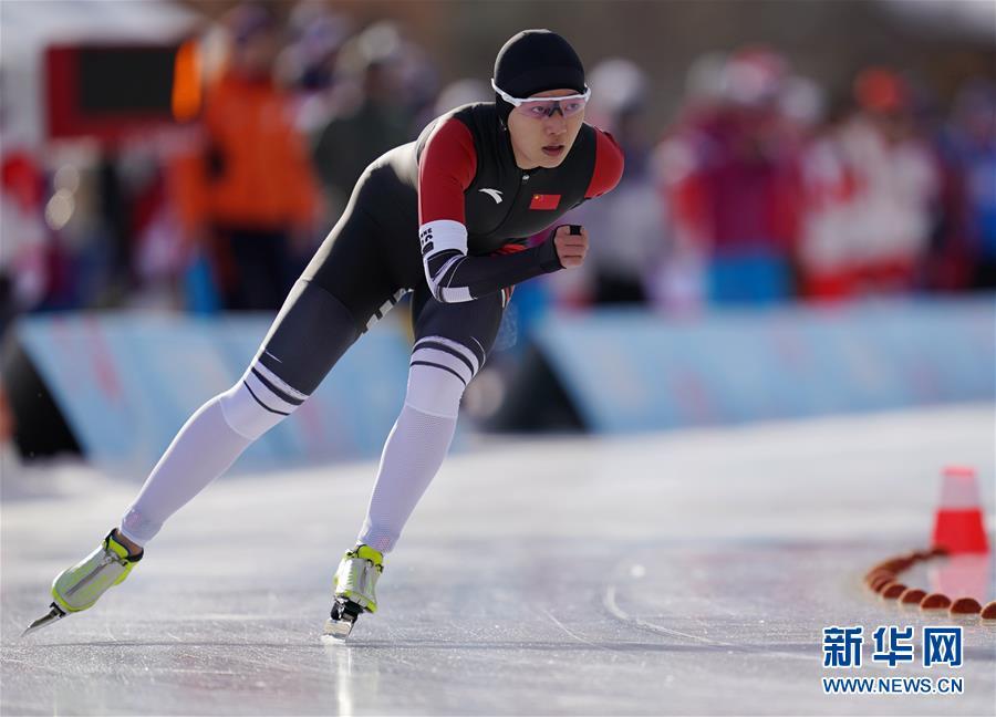 (冬青奥会)(2)速度滑冰——杨滨瑜获得女子1500米铜牌