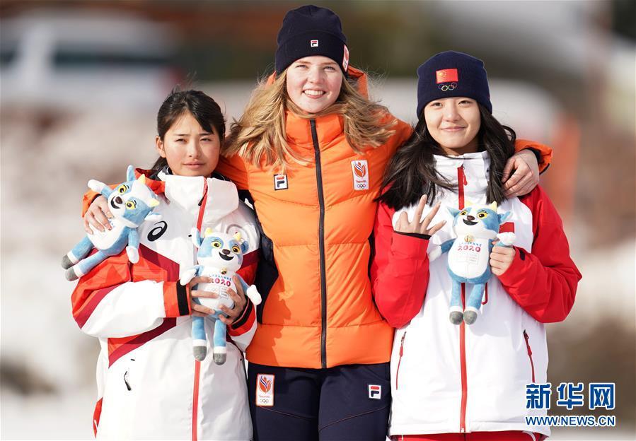 (冬青奥会)(1)速度滑冰——杨滨瑜获得女子1500米铜牌