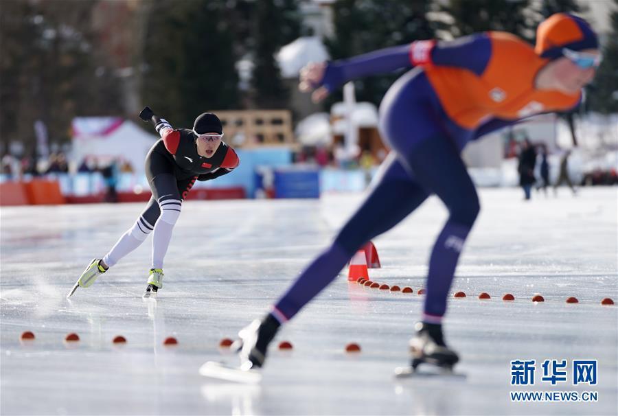 (冬青奥会)(3)速度滑冰——杨滨瑜获得女子1500米铜牌