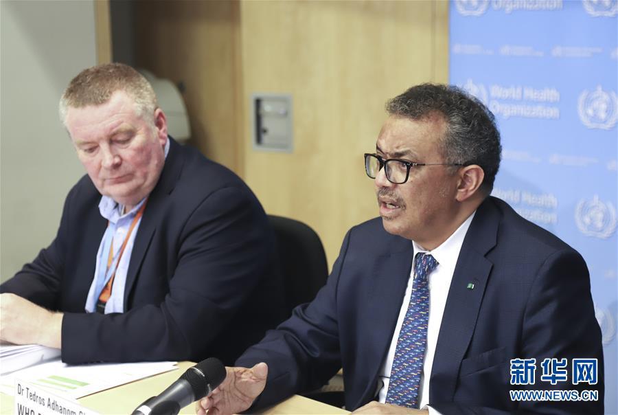 """(国际)世卫组织敦促各国以""""全政府""""方式应对新冠肺炎疫情"""