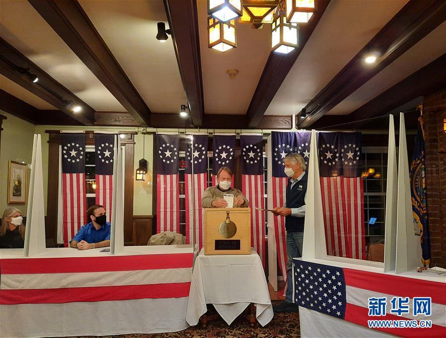(国际)(1)美国大选选举日投票开始