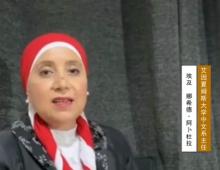 云游中阿博览会艾因夏姆斯大学中文系主任娜希徳·阿卜杜拉:中阿博览会,以前是,将来仍然是中国和阿拉伯国家密切合作的标志
