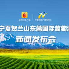 直播:第九届宁夏贺兰山东麓国际葡萄酒博览会新闻发布会