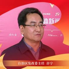 """【全会精神大家谈】自治区发改委主任 许宁:让""""十四五""""蓝图落实落地"""