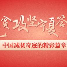 【云海报】脱贫攻坚宁夏答卷丨中国减贫奇迹的精彩篇章