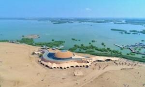 塞上的风光、江南的景,人在沙湖不思归