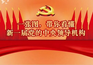 一張圖,帶你看懂新一屆黨的中央領導機構