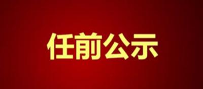 中共12bet网址回族自治区委员会干部任前公示公告(2018年第1号)