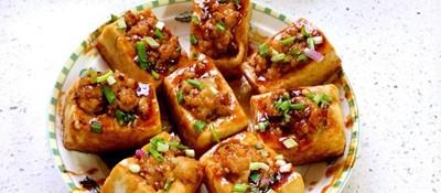 客家酿豆腐:荤素相宜味至浓 古今传承情至深