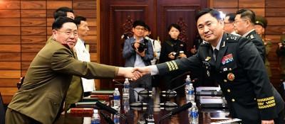 韩朝时隔十年重启高级别军事会谈