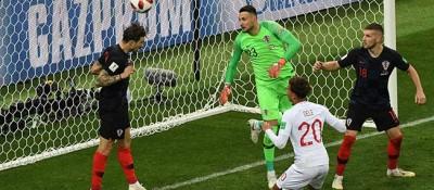 【世界杯】克罗地亚队淘汰英格兰队 首进决赛