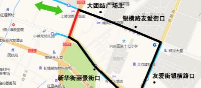 银川公交调整8条公交部分运行路线