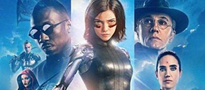 科幻大片《阿丽塔:战斗天使》登顶北美周末票房榜