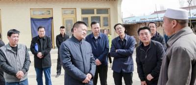 马汉成在原州区调研脱贫攻坚工作