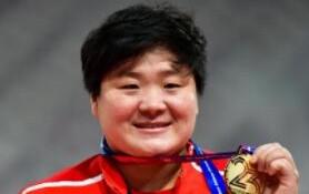 多哈亚锦赛:巩立姣夺得女子铅球冠军