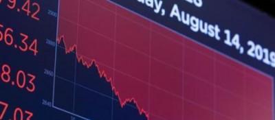 纽约股市三大股指14日暴跌