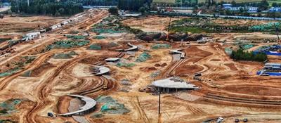 银川丝路经济园全力推动项目建设