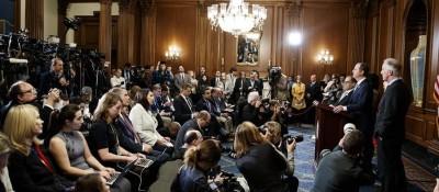 美国会众议院司法委员会宣布对特朗普的弹劾条款