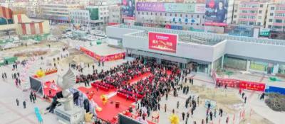 義烏中國小商品城西北(寧夏)批零中心開業王文宇調研了解運營及市民反響等情況