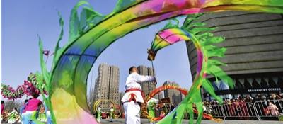 民俗社火迎春节