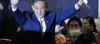 菅义伟以压倒性优势当选日本自民党新总裁
