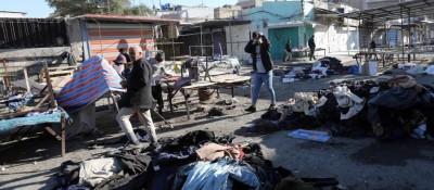伊拉克首都自殺式爆炸襲擊傷亡人數升至32死110傷