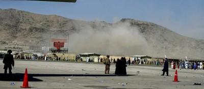 阿富汗喀布尔机场爆炸事件致至少72人死亡,现场画面→