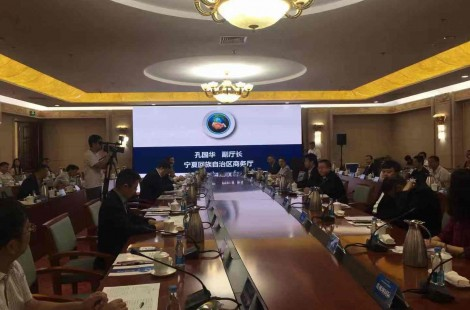 中阿博览会江苏企业与中央企业合作对接会在银川举行