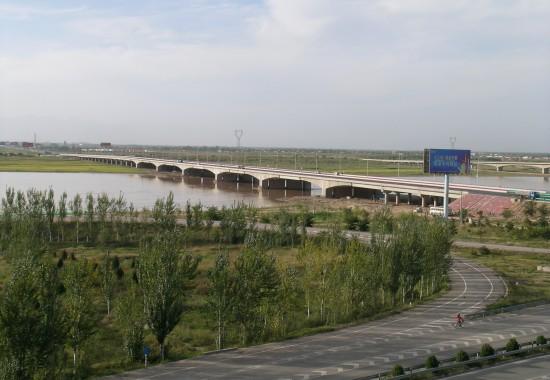 青银高速银川黄河大桥