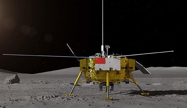 嫦娥四号着陆器和月球车外观设计构型公布 征名活动同步启动