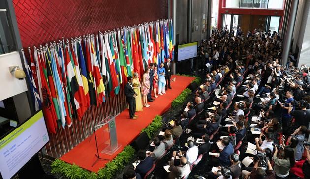 孔子学院已遍布149个国家和地区 累计培养各类学员900多万名