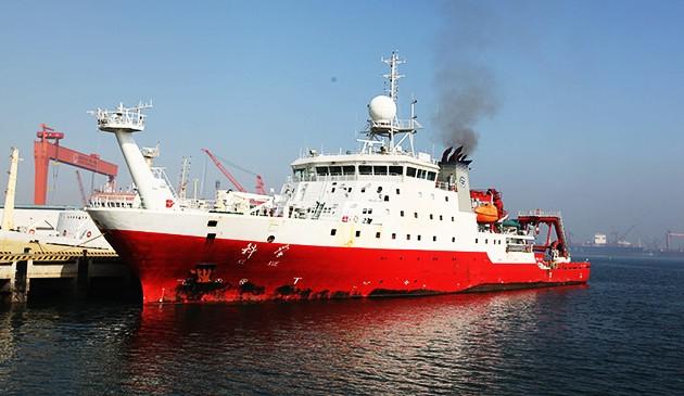 """""""科学""""号起航维护升级西太平洋实时科学观测网"""