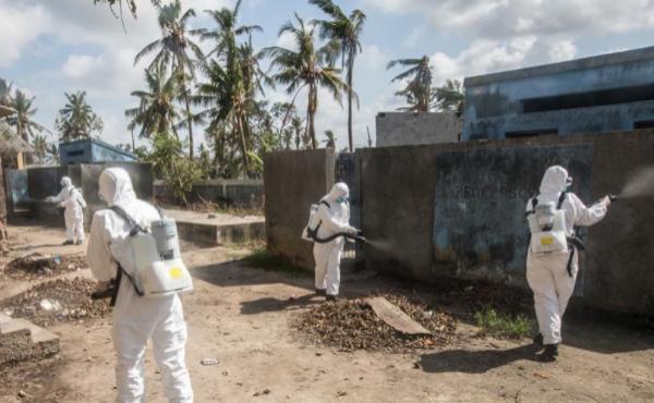 通訊:與時間賽跑——中國救援隊成為莫桑比克災后防疫重要力量