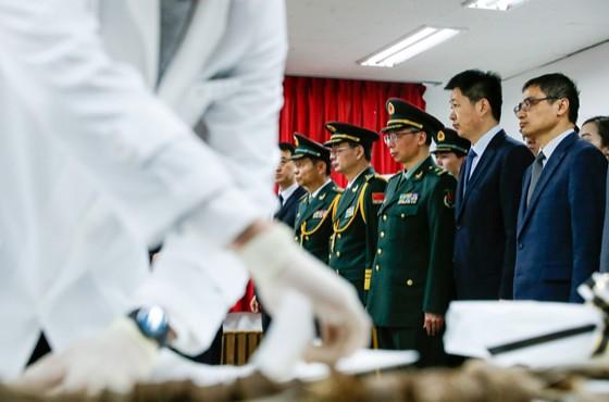 第六批在韓志愿軍烈士遺骸將被接運回國 志愿軍烈士遺骸裝殮儀式今天舉行