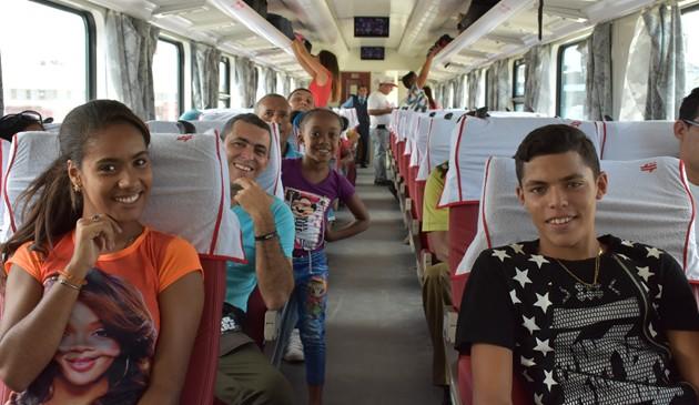中國列車在古巴正式運行
