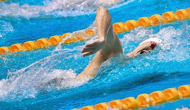 游泳——男子200米自由泳:孙杨夺冠
