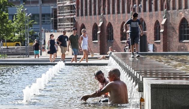 热浪席卷德国