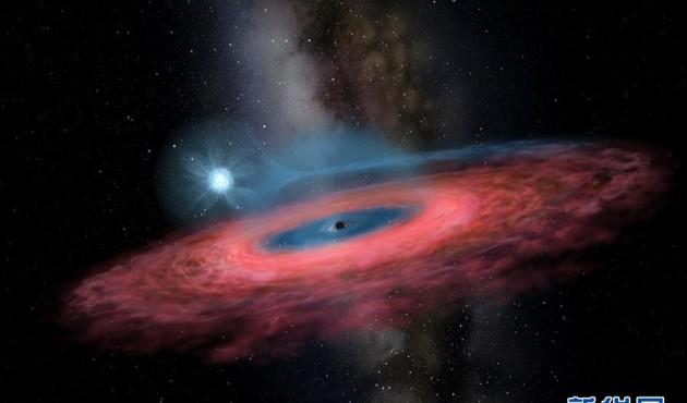 我國天文學家發現迄今最大的恒星級黑洞