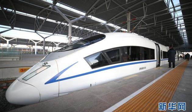 寧夏結束沒有高速鐵路歷史