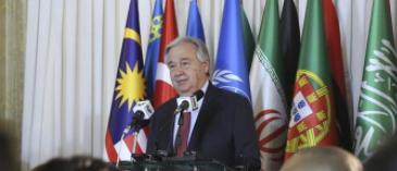 聯合國秘書長對中國抗擊新冠肺炎疫情充滿信心
