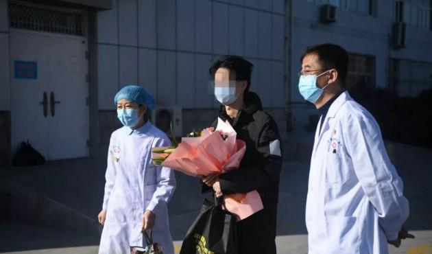好消息!剛剛 寧夏首例確診患者治愈出院!