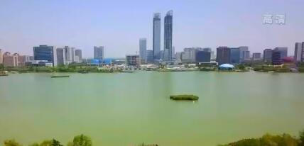 """银川绿地中心""""双子塔""""北塔楼预计今年年底完成全部工程建设"""