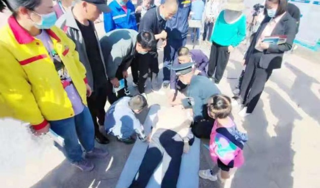 宁夏开展科普体验活动 提升公众防灾减灾能力