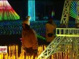 银川西夏风情园灯光滑雪节为市民开启梦幻之旅-181225