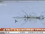 灵武矿区:生产废水无害化处理变湿地 40多种鸟类如约而至-200701