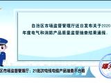 曝光台丨自治区市场监督管理厅:21批次电线电缆产品抽查不合格-20201126