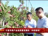 """宁夏苹果产业高质量发展的""""科技密码""""-20211010"""